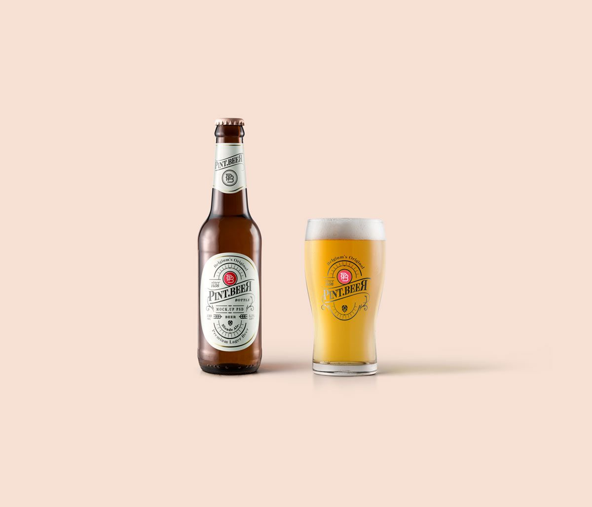 Blonde-Beer-Amber-Bottle-Mockup